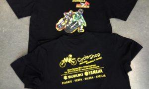 Verkaufsshirt für das Motorcross Event in Aichwald