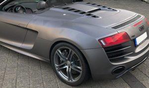 Audi A8 Folierung