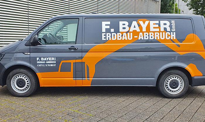 Fahrzeugbeschriftungen & Carwrapping in Esslingen