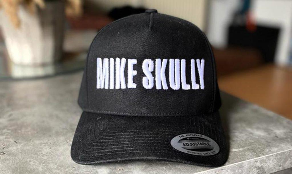 Cap mit 3D Motiv bestickt für Micke Skully