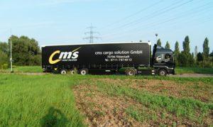 Planenauslieger bewalzt für Cms Cargo Solution