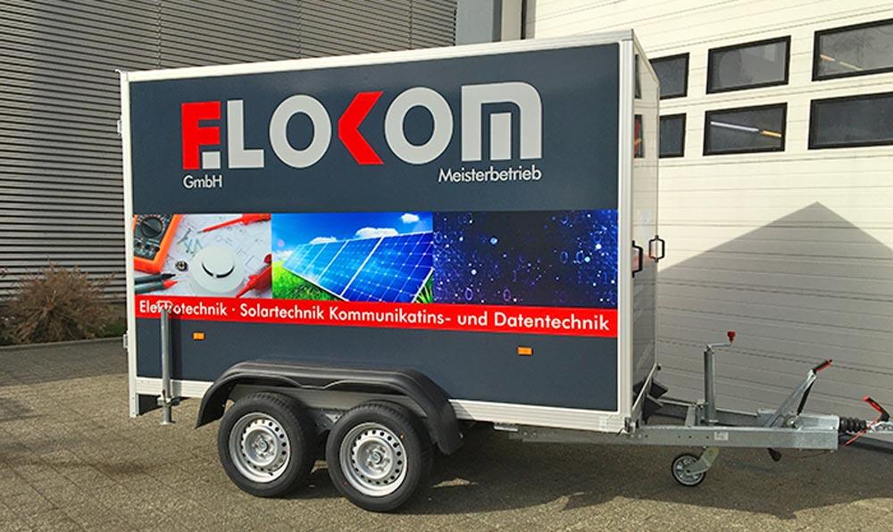 Anhänger Elokom Digitaldruck