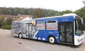 Busbeschriftung FormPur Stuttgart