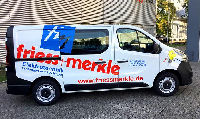 FriessMerkle Fahrzeugbeschriftung