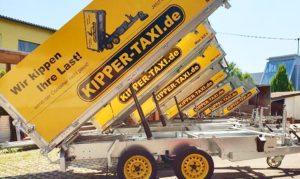 Anhänger Flotte für Kipper Taxi
