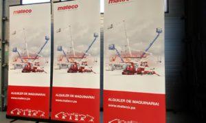Rollup für Mateco GmbH Stuttgart Messe