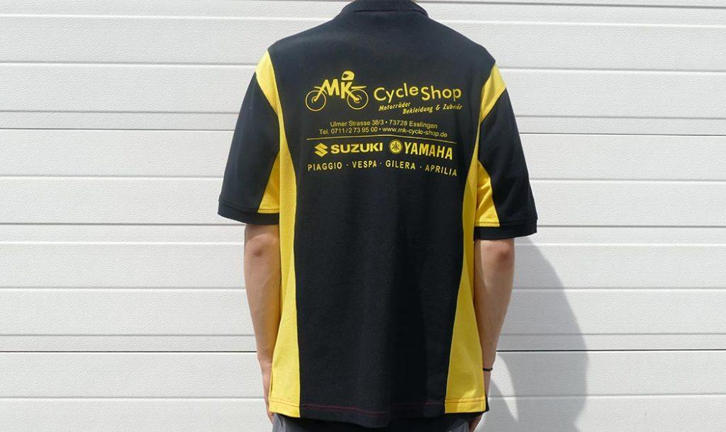 Polo für Motorcross Rennen Aichwald
