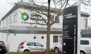 3D Buchstaben und Pylone für Office Produkts in Kirchheim