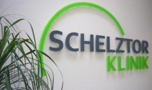 3D Acrylglasbuchstaben Schelztor Klink Esslingen