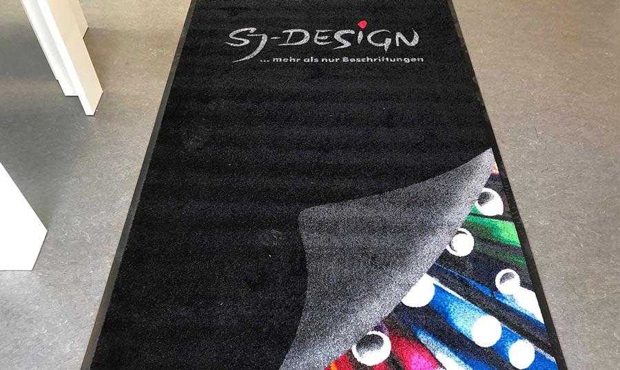 Schmutzfangteppich mit 34 Farben