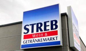 Leuchtkasten für die Firma Streb Pforzheim