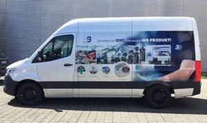 Systembau Transporterfolierung