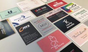Visitenkarten individuell, edel, exklusiv und beeindruckend. Wir erstellen Ihre Visentkarte. Wir gestalten für Sie eine moderne Vorlage ganz nach Ihren Wünschen