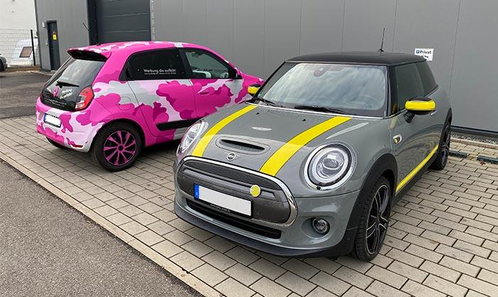 Mini und Renautwing Vollfoliert Wernau