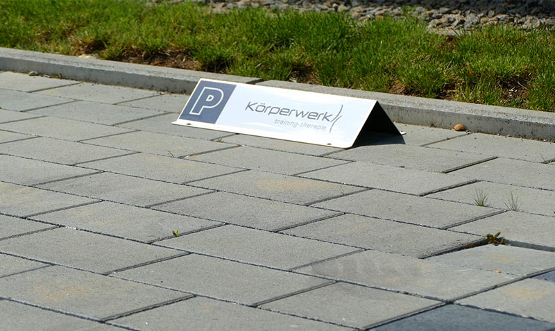 KorperwerkParkplatzschilder